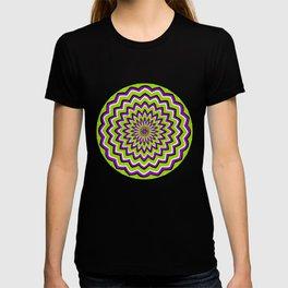 Optical Illusion moving pattern T-shirt