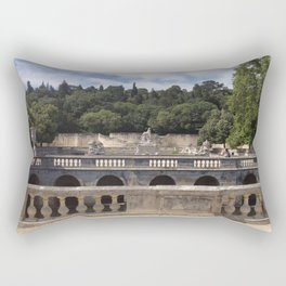 Jardins de la Fontaine Rectangular Pillow