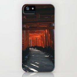 Fushimi-Inari iPhone Case