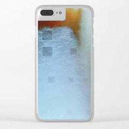 The Third Broken Machine Clear iPhone Case