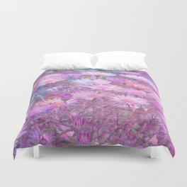 Asters multicolor Duvet Cover