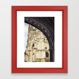 Canterbury Cathedral Arch Framed Art Print