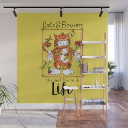 The Best Things in Life Wall Mural