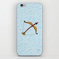 sagittarius iPhone & iPod Skins featuring Sagittarius by Giuseppe Lentini