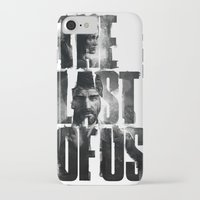 last of us iPhone & iPod Cases featuring The Last of Us by Tatiana Anor