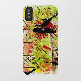 In The Falling Rain iPhone Case