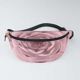 Pink Succulent Tinted Photo Fanny Pack