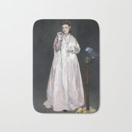 Édouard Manet Young Lady in 1866 Bath Mat