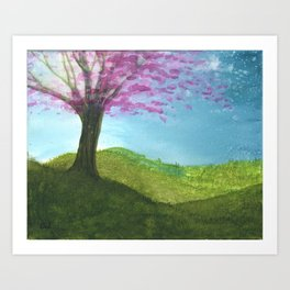 After Thought Art Print