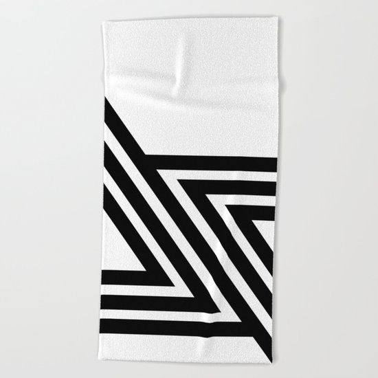 Hello VI Beach Towel