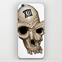 Skull XIII iPhone Skin