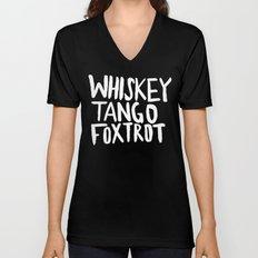 Whiskey Tango Foxtrot x WTF Unisex V-Neck