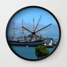 Maritime Museum View Wall Clock