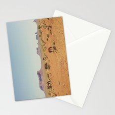 Grazing The Desert Stationery Cards