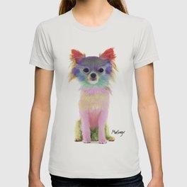 Colorful chihuahua T-shirt