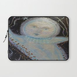 Mr. Moon - Whimsies of Light Children Series Laptop Sleeve
