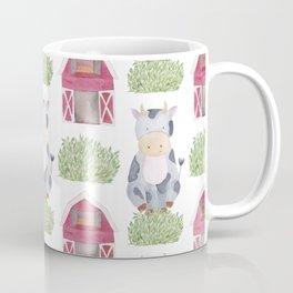 Farm Pattern Coffee Mug