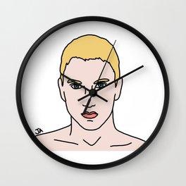 Marshall Mathers Illustration Wall Clock
