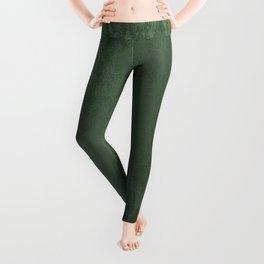 Velvet in Green Leggings