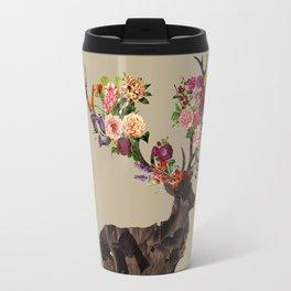 Spring Itself Deer Flower Floral Tshirt Floral Print Gift Travel Mug