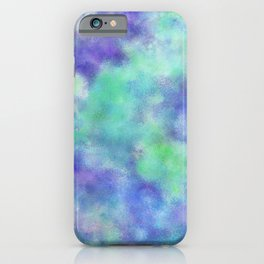 Alone, But Not Lonely: Abstract Painting iPhone Case