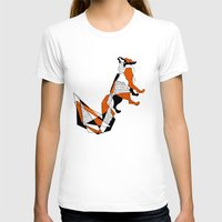 literature T-shirts featuring literature fox 2 by vasodelirium