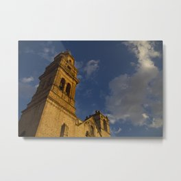 Temple of Saint Agust Metal Print