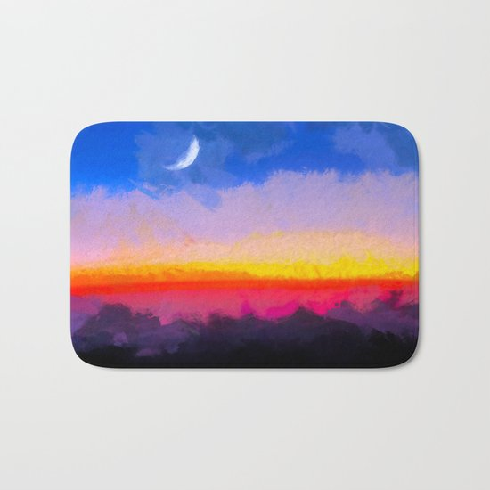 Sunrise - Leaving the Moon Bath Mat