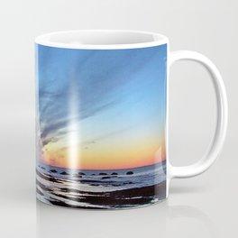 Cloud Streaks at Sunset Coffee Mug