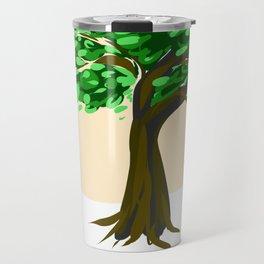 Simple tree Travel Mug