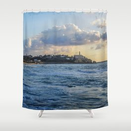 Jaffa Sea View Shower Curtain