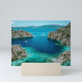 Gorgeous Tropical Ocean Mini Art Print