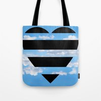 moschino Tote Bags featuring Moschino Heart by cvrcak
