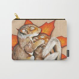 Autumn Squirrels Carry-All Pouch