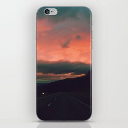 Winter Road Trip iPhone Skin