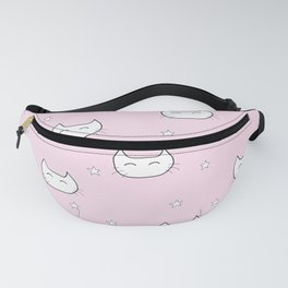 kitty star pattern Fanny Pack