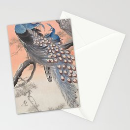 Regal Peacocks  Stationery Cards