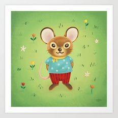 Field Mouse Art Print