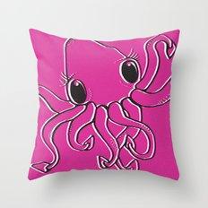Krakken Throw Pillow