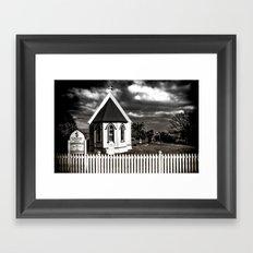 The Tiny Church Framed Art Print