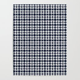 Tiled Mini Abstract  Poster
