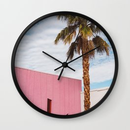 Palm Springs Vibes Wall Clock