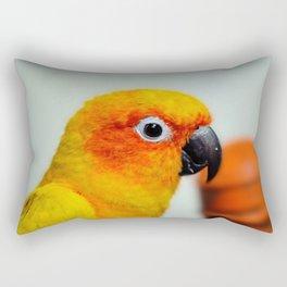 Sun Conure Rectangular Pillow