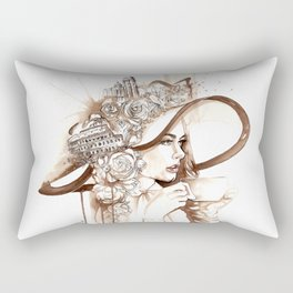 Bell'Italia - Miss Rome Rectangular Pillow