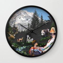 The Oregon Trail #2 Wall Clock