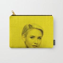 Nikki Whelan - Celebrity (Florescent Color Technique) Carry-All Pouch