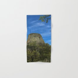 Devils Tower View Hand & Bath Towel