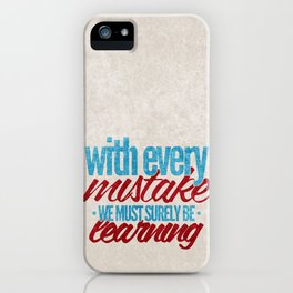 While My Guitar Gently Weeps.  iPhone Case