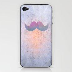 Pink stache iPhone & iPod Skin