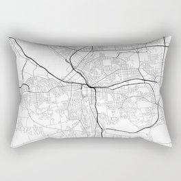 Minimal City Maps - Map Of Syracuse, New York, United States Rectangular Pillow